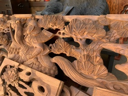 神輿彫刻(木彫り)セット