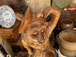 木彫り 猿