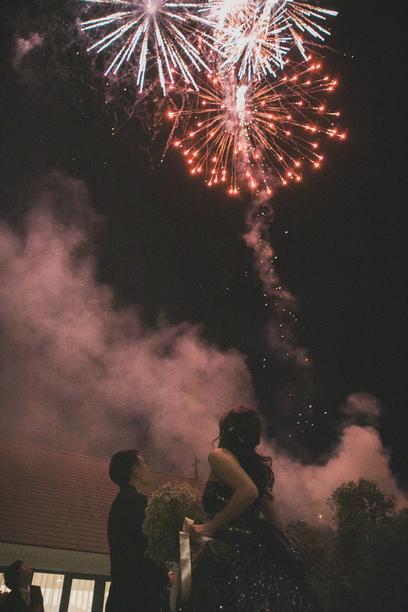 星とキャンドルの灯りに包まれて、、 ナイトウェディング☆