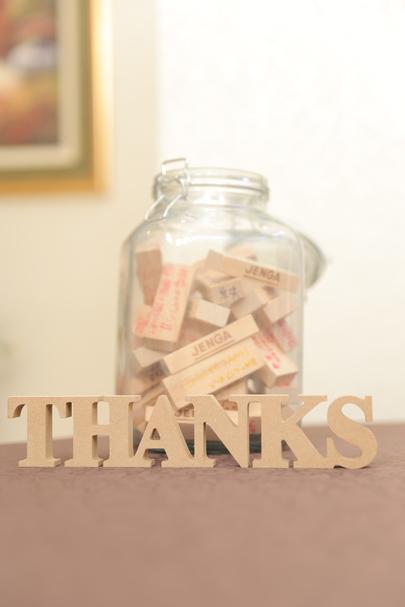「ありがとう」を伝えるアットホームウエディング