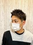 【友人cut♪】 ベリショ・アップバングスタイル!