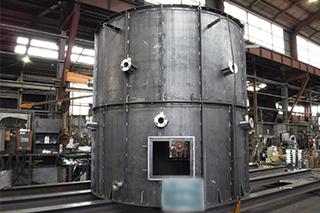 ごみ処理施設排ガス煙突