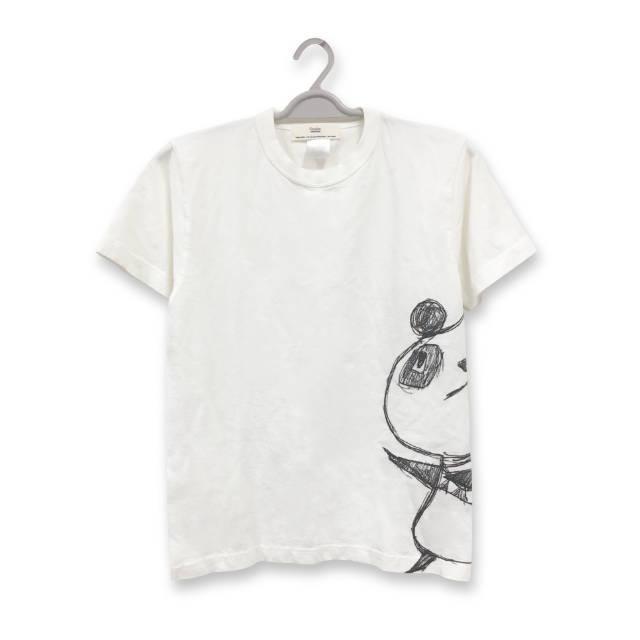 パンダ プリント Tシャツ(サイドバージョン) : TS-555