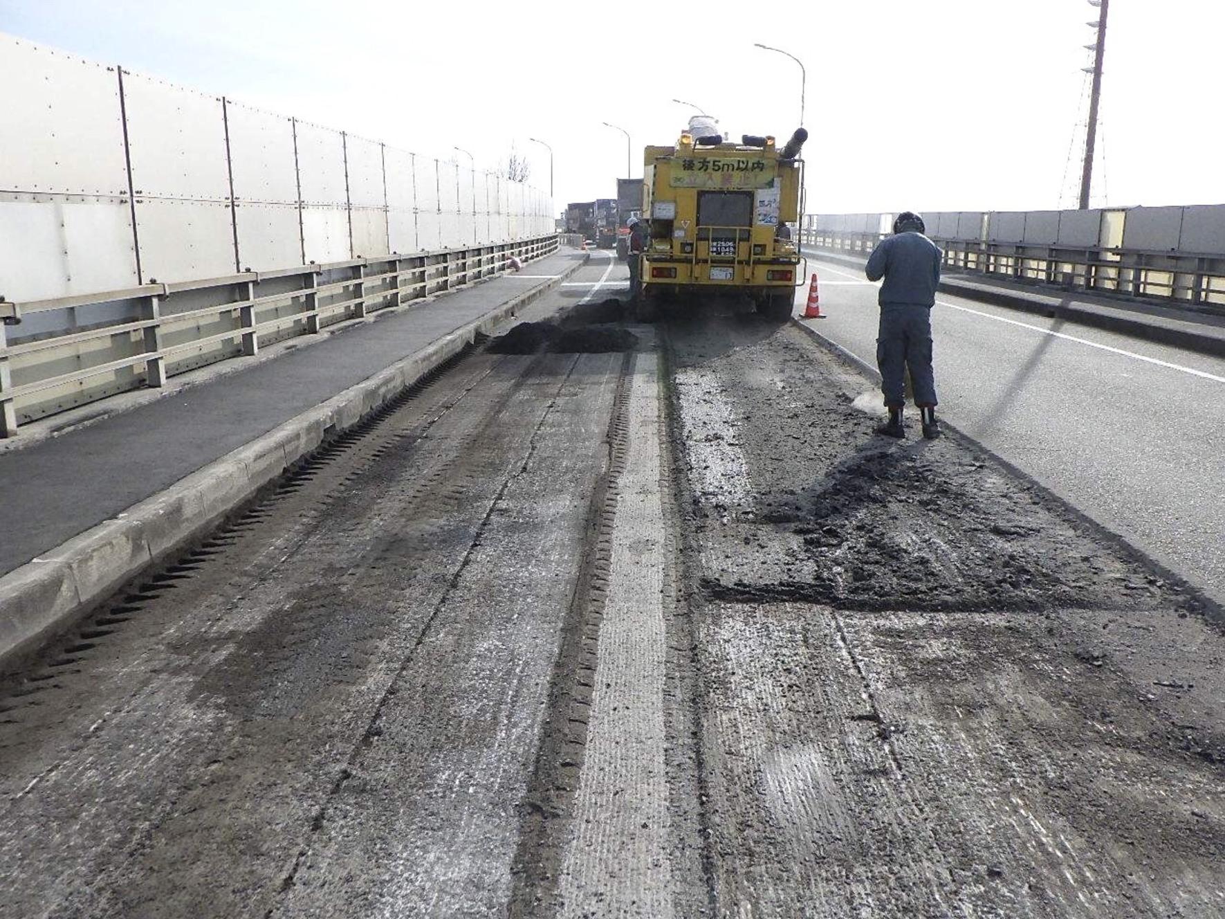 高砂大橋耐震補修工事