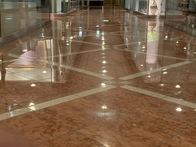 有名ホテルの大理石研磨作業完了