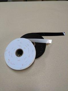 合成皮革(エナメル)をバイヤス加工し、テープカットしたもの