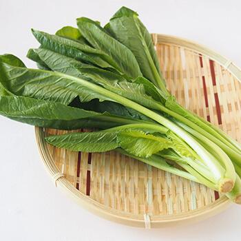 栄養たっぷりの小松菜です。