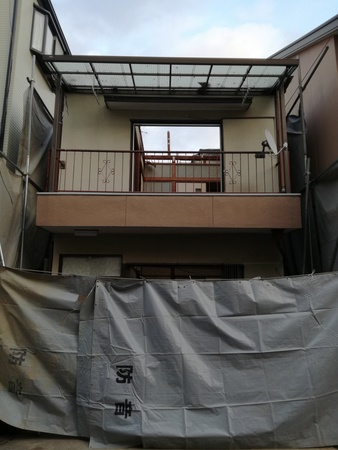 豊中市赤坂N様邸二階建て