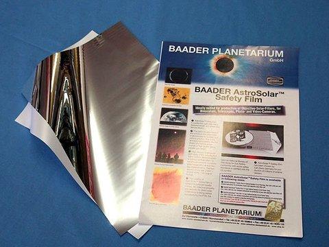 アストロソーラー太陽フィルター(眼視・撮影兼用ND5)