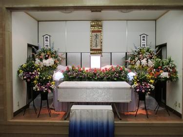 生花祭壇(25万祭壇)