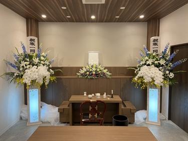 ワンポイント生花祭壇