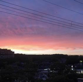一秒一秒で変わる空の色