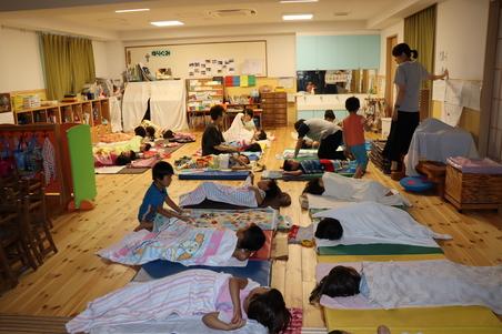 ゆり組(5歳児)お泊まり保育