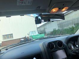 ジープコンパス ドライブレコーダー取り付け 前後カメラ 摂津