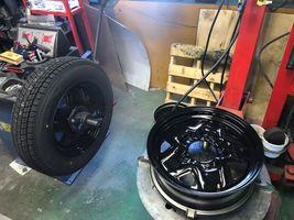 タイヤ交換 ホイールバランス調整 スタッドレス