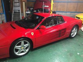 フェラーリ512TR ブロアモーター交換 carplay取り付け バックカメラ取り付け ガラスコーティング