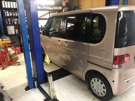 タント エンジンオイル交換 タイヤ交換 整備 修理 点検 摂津