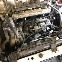 オデッセイ セルモーター交換 エンジンかからない 修理 整備 摂津