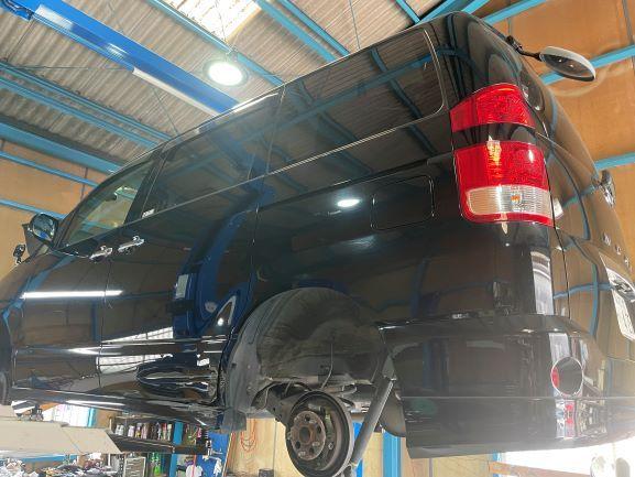 ノア 車検 整備 修理 水漏れ ウォーターポンプ交換 摂津