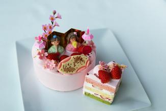 ひなまつりケーキ2021のご案内