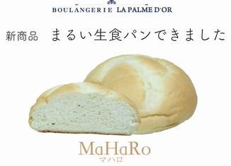 【新商品】まるい生食パンできました
