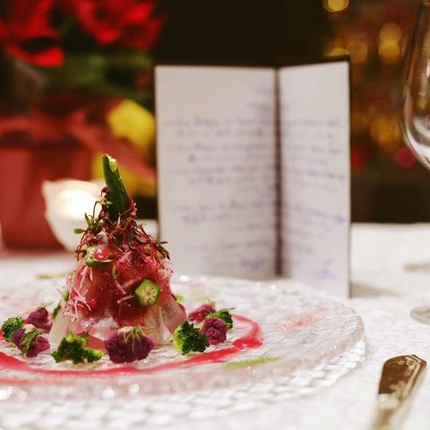 クリスマスランチ&ディナー予約受付中☆クリスマスメニューのご案内