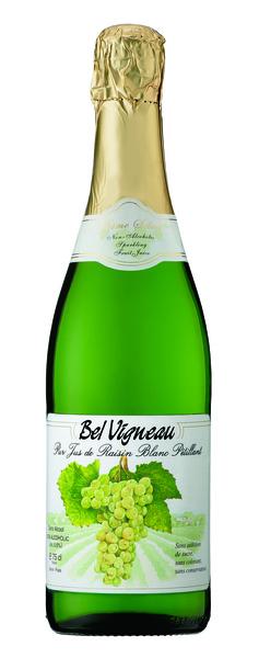 ベルビニョー スパークリング ワイングレープ ジュース白