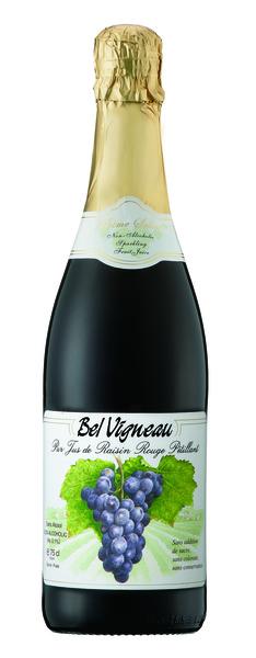 ベルビニョー スパークリング ワイングレープ ジュース赤