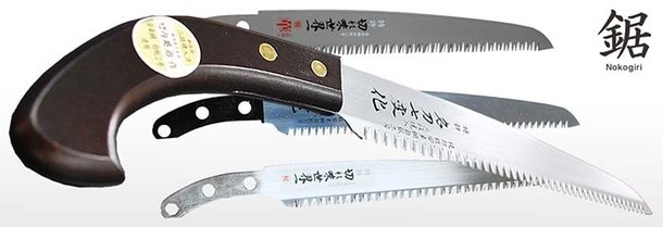 JAPAN's MEISTER-QUALITY PRUNING SAWS1