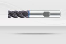 【超硬エンドミル】4枚刃・不等分割・不等リード ステンレス・難削材加工用(No.KT7747)