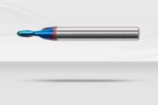 【超硬エンドミル】ナクロエンドミル 超硬ボールエンドミル  2枚刃《No.NACRO 020B》