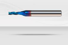 【超硬エンドミル】ナクロエンドミル 超硬スクエアエンドミル  3枚刃・4枚刃《No.NACRO 030、No.NACRO 040》
