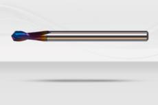【超硬エンドミル】ナクロエンドミル 120°超硬Vポイント《No.NACRO 020V120》