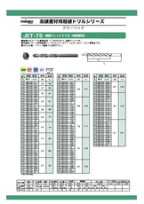 【HANSWERK】ジェットドリル(カタログ)