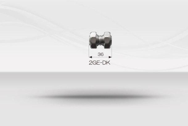 """【1/2""""ホースシステム 】ダブルボールジョイントホース《No.2GE-DK》1"""