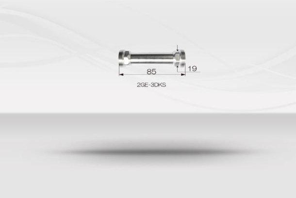 """【1/2""""ホースシステム 】ダブルソケットジョイントホース《No.2GE-3DKS》1"""