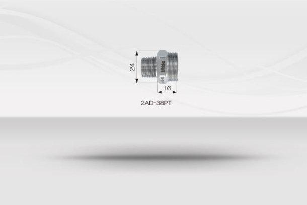 """【1/2""""ホースシステム 】コネクター 《No.2AD》1"""