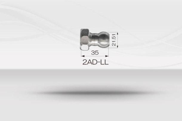 """【1/2""""ホースシステム 】 ホールコネクター(LL用)《No.2AD-LL》1"""