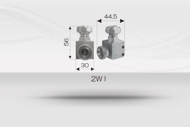 """【1/2""""ホースシステム 】コーナーパイプライン用コネクター《No.2-WI》1"""