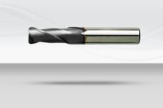 【超硬エンドミル】コーナーラジアス 2枚刃・4枚刃《No.166、No.168》