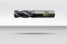【超硬エンドミル】4枚刃・チタンカット(No.KT7487、No.KT7607)