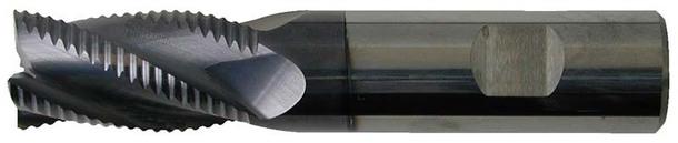 超硬ラフィングエンドミル 4枚刃1