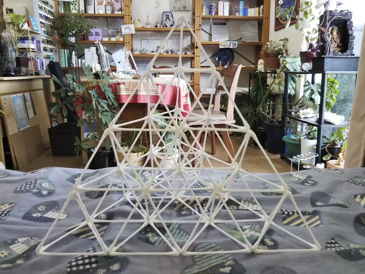 綿棒で神聖幾何学