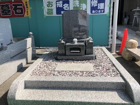 3㎡洋型デザイン墓石(仏式) 展示品