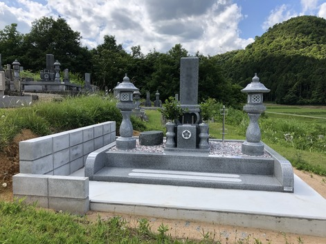 4.5㎡和型デザイン墓石