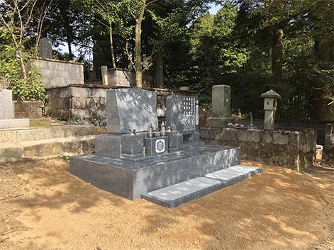 G家墓石工事(洋墓)
