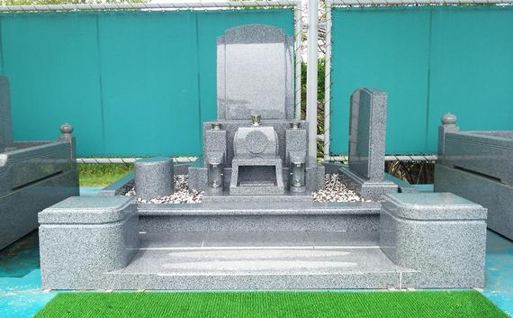 洋型デザイン墓石(仏式)4㎡