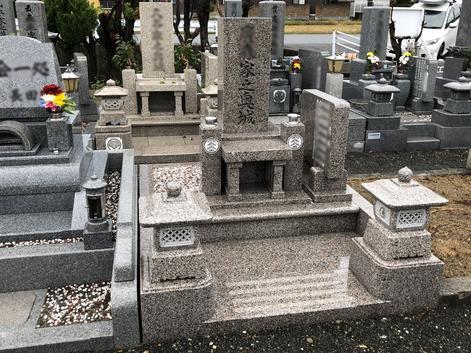 3㎡神道型墓石