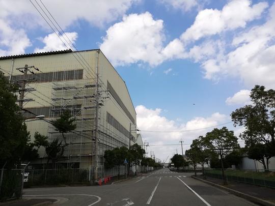 台風被害の復旧工事1