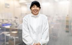 2011年入社 産業資材事業部 城山工場 福井 藍